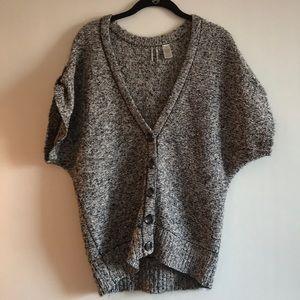 T-shirt sweater cardigan